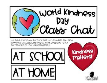 World Kindness Day FREEBIE