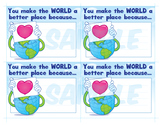 World Kindness Day Note Cards
