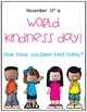 World Kindness Day Posters