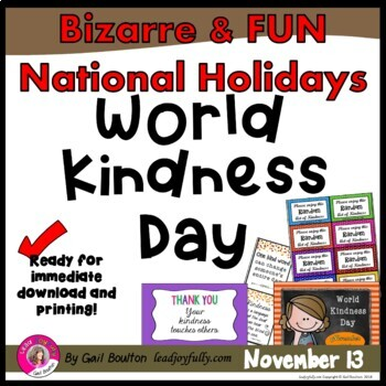 World Kindness Day (November 13th)