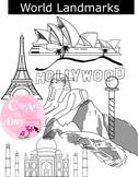 World Landmark Clip Art
