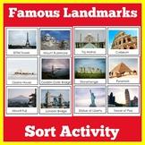 Landmarks | Activity | World Landmarks Picture Cards | 1st