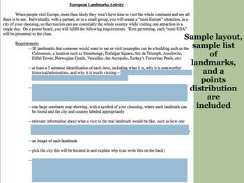 World Landmarks Project Bundle
