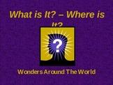 World Landmarks Quiz (PowerPoint)