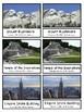 World Landmarks and Around the World  Montessori 3-part cards