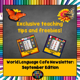 World Language Cafe Newsletter (September '16 Edition)
