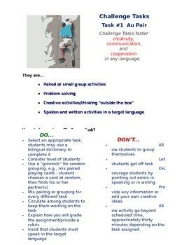 World Language Challenge Task #1