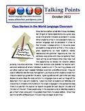 World Language Classroom Teaching Activities (10/2012)