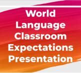 World Language Expectations Presentation