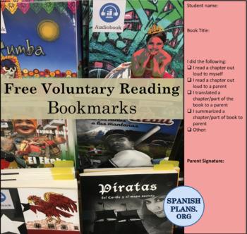 World Language FVR Bookmarks