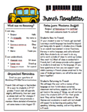 World Language Newsletter Template
