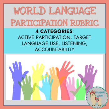 World Language Participation Rubric