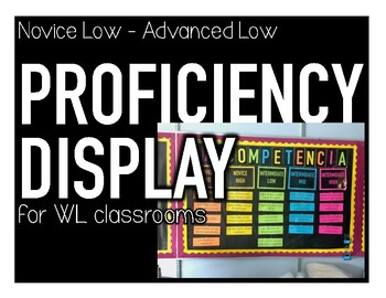 World Language Proficiency Display