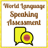 World Language Speaking Assessment (French, Spanish, Itali