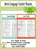 Digital World Language Teacher Planner