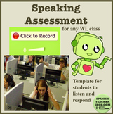 World Language Vocaroo Speaking Assessment Template