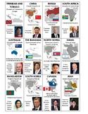 World Leader Cards - 2018