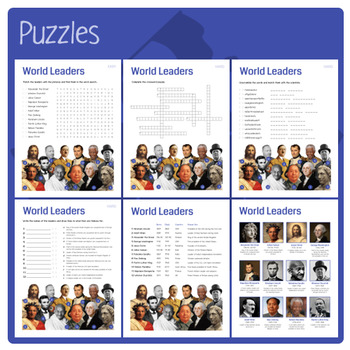 World Leaders (Puzzles & Fun Stuff)