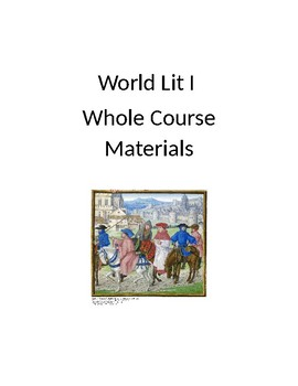 World Lit I Whole Course Materials