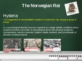 "World Lit. ""Norwegian Rat"" and ""Tuesday Siesta"" Reading Activities"