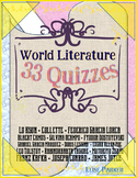World Literature Quizzes -- 33 Assorted Quizzes on Well-Known Works