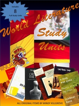 World Literature: A Collection of Novel Study Units (8 Included)