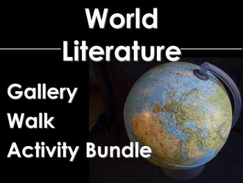 World Literature Gallery Walk Bundle: Odyssey, Night, All Quiet, Cyrano & More