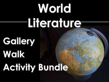 World Literature Gallery Walk Bundle: Odyssey, Night, All