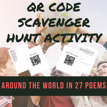 World Literature Poet List & QR Codes