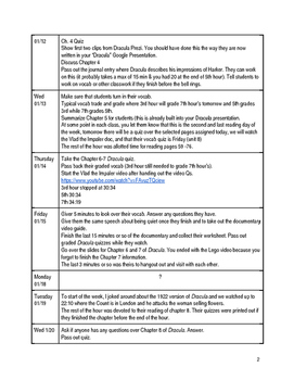 World Literature (Sophomore English) Full Year Lesson Plans