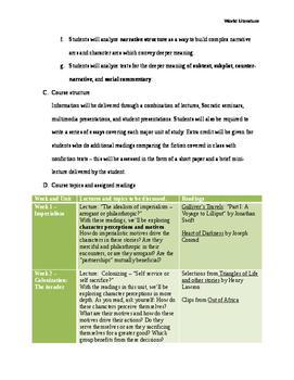 World Literature Survey Course