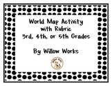 World Map Activity with Rubric