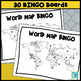 World Map BINGO and Test