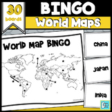 World Map BINGO and Test