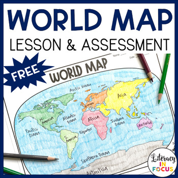 graphic about Free World Map Printable identify Environment Map Recreation and Examination Printable and Electronic No cost