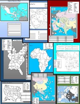 World Map Tests
