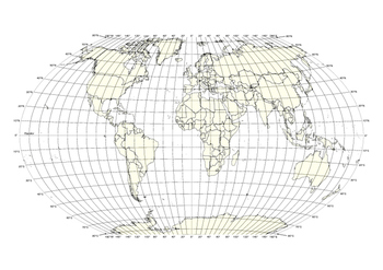 World Map Printable Latitude And Longitude Teaching Resources