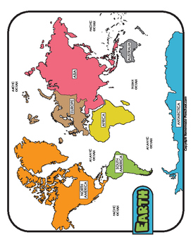 Printable world map teaching resources teachers pay teachers blank world maps color black and white blank gumiabroncs Images