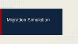 World Migration Simulation Activity Game