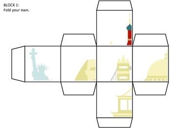 World Monument Puzzle Blocks - Around the World GAME