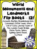 World Monuments and Landmarks Flip Books - Money Saving Bundle