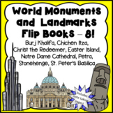 World Monuments and Landmarks Flip Books Set 2 - Money Sav