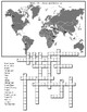 World Mountains and Volcanos CROSSWORD PUZZLE