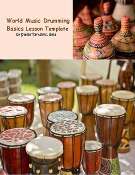 World Music Drumming Basics Lesson