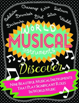 World Music Instrument Mini-Posters!