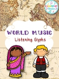 World Music Listening Glyphs
