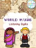 World Music Listening Glyphs