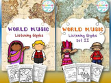 World Music Listening Glyphs BUNDLE