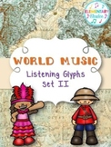 World Music Listening Glyphs Set II