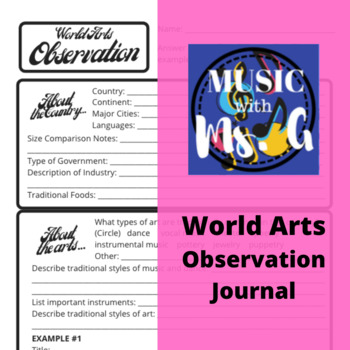 World Music Listening Journal